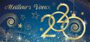 Toute l'équipe d'ACTION IMMOBILIER vous présente ses meilleurs voeux pour 2020!